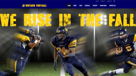 New Whitmer Football Website Launched