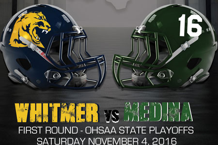 Whitmer Football - OHSAA Playoff Program Cover